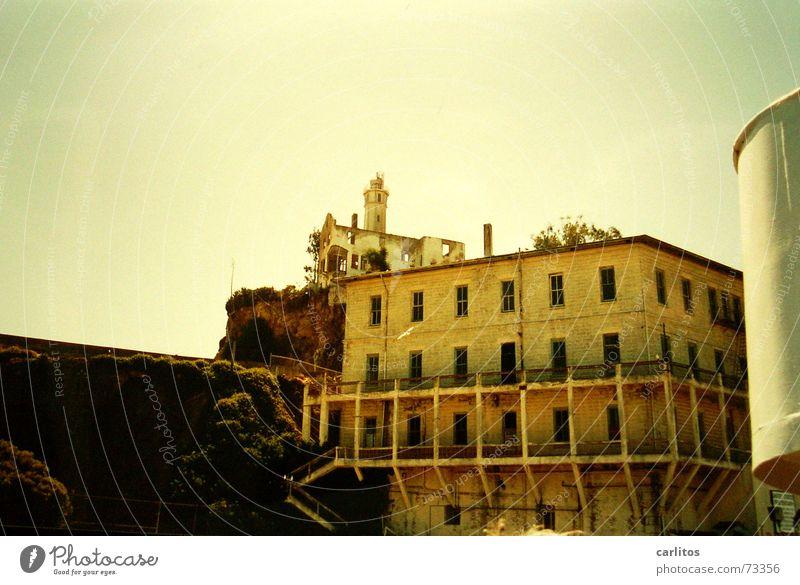 Ankunft in Alcatraz Insel USA Justizvollzugsanstalt Kalifornien San Francisco Hochsicherheitstrakt