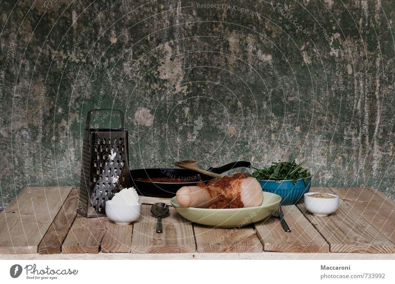 Nudel mit Soße Lebensmittel Wurstwaren Milcherzeugnisse Gemüse Salat Salatbeilage Kräuter & Gewürze Ernährung Mittagessen Festessen Fastfood Slowfood