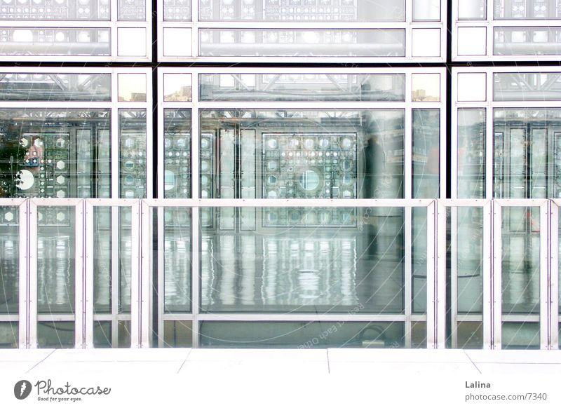 Arabe Paris Fassade Architektur Institute du Monde Arabe Fassadendurchblick Blick vom Dach Strukturen & Formen
