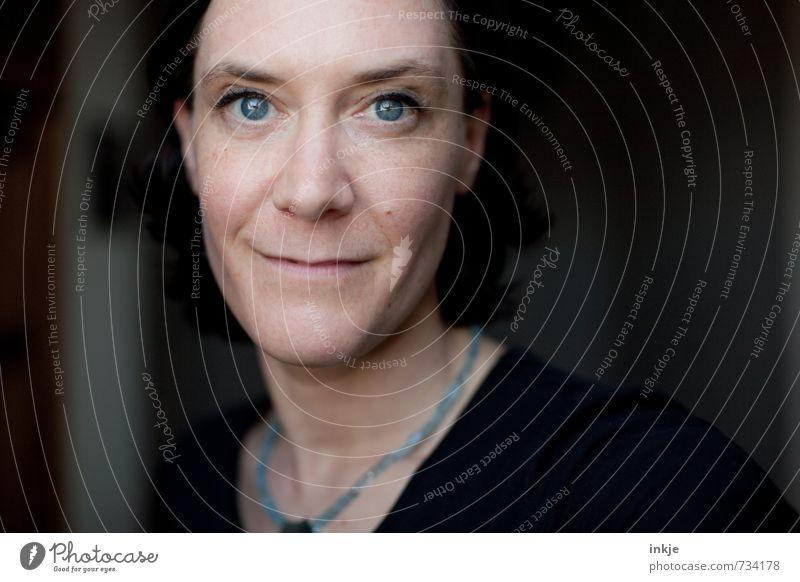 twins || Lifestyle Stil Frau Erwachsene Leben Gesicht 1 Mensch 30-45 Jahre Lächeln Blick authentisch Freundlichkeit schön blau Gefühle Zufriedenheit Optimismus