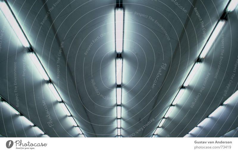 in reihe ...! 2 weiß blau Farbe Lampe Linie Reihe Alexanderplatz Zickzack Energiesparlampe Leuchtstoff