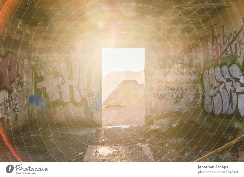 Himmelstür IV Felsen Berge u. Gebirge Glück Wahrheit Hoffnung Religion & Glaube Teneriffa Kanaren Insel Erscheinung Himmel (Jenseits) Gott Lichterscheinung Tür