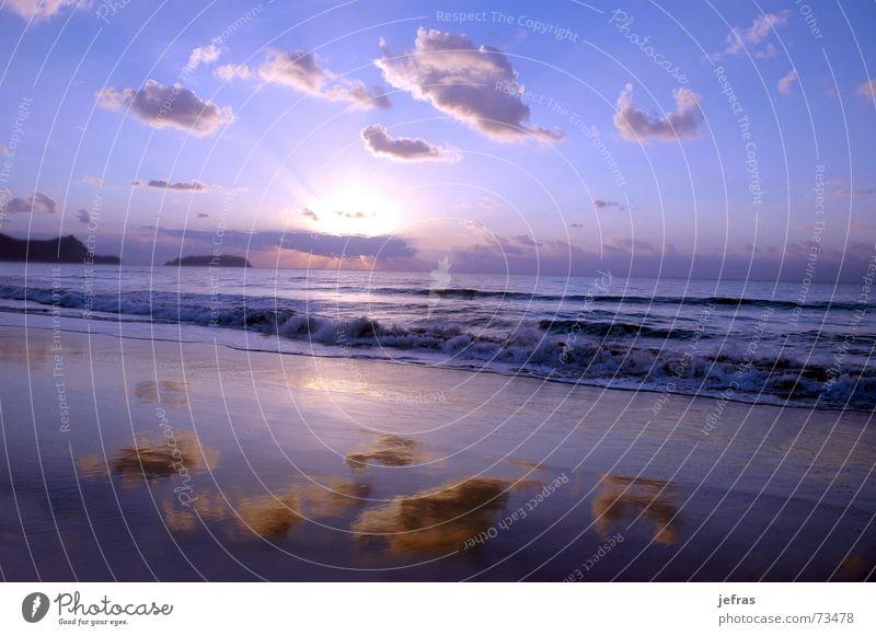 sunrise Natur Sommer Strand Sand