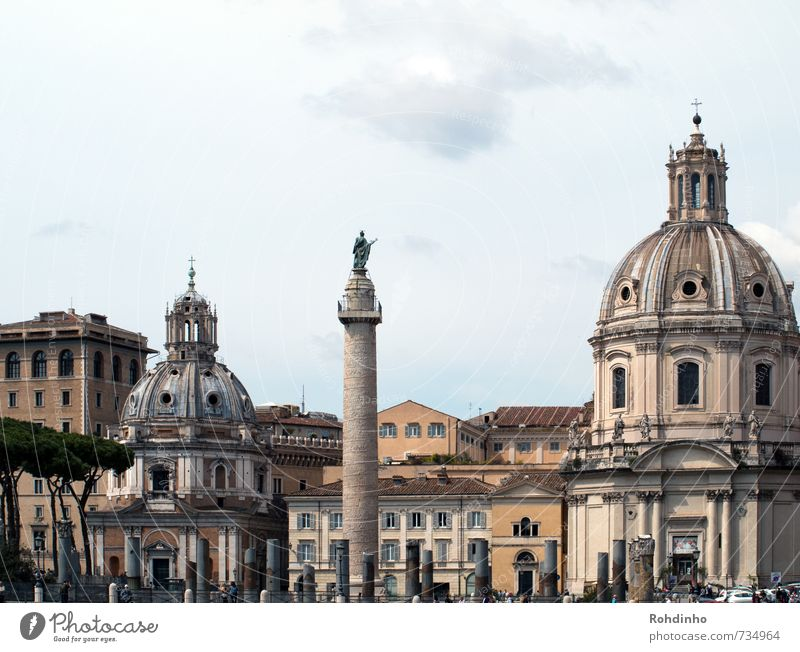ROMA - Kuppeln & Säulen Ferien & Urlaub & Reisen Tourismus Ausflug Sightseeing Städtereise Architektur Rom Italien Europa Stadt Hauptstadt Stadtzentrum Altstadt