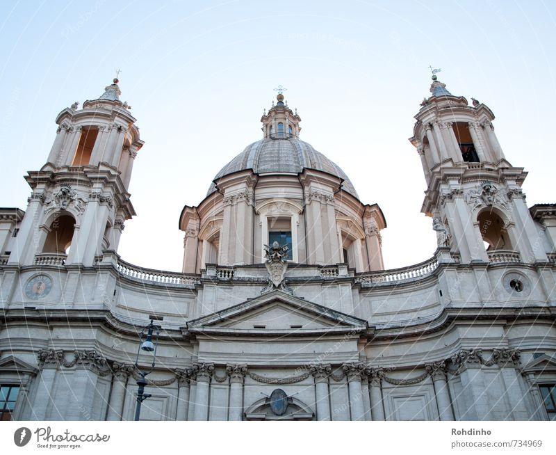 ROMA - Sant'Agnese in Agone Ferien & Urlaub & Reisen Tourismus Ausflug Sightseeing Städtereise Sommer Sommerurlaub Architektur Rom Italien Europa Stadt