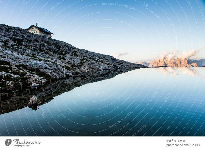 Wolkenkraftwerke am Horizont Ferien & Urlaub & Reisen Tourismus Abenteuer Ferne Freiheit Berge u. Gebirge wandern Umwelt Natur Landschaft Pflanze Urelemente