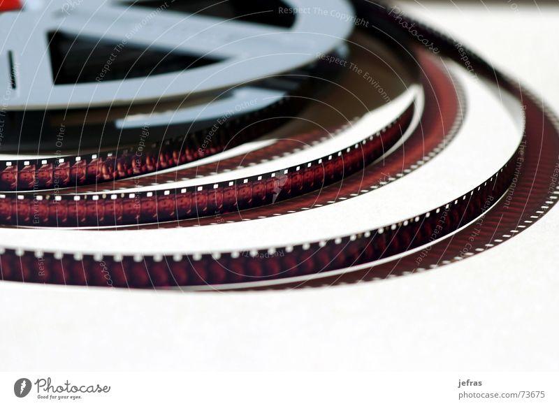 movie Nahaufnahme Image Makroaufnahme Filmindustrie negativ Detailaufnahme filmstrip frame holes isolated movement plastic altehrwürdig