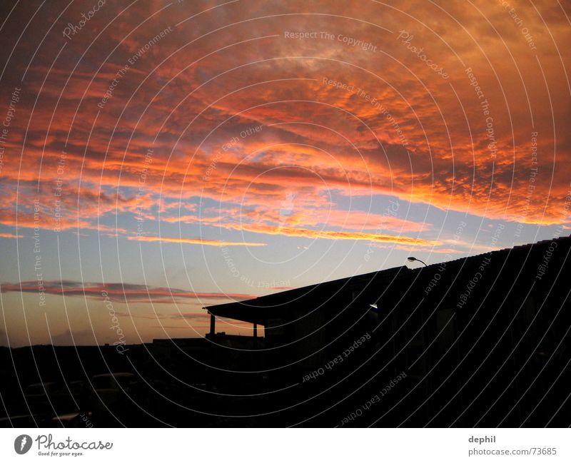 independence day, light Himmel Wolken Afrika Abenddämmerung Südafrika