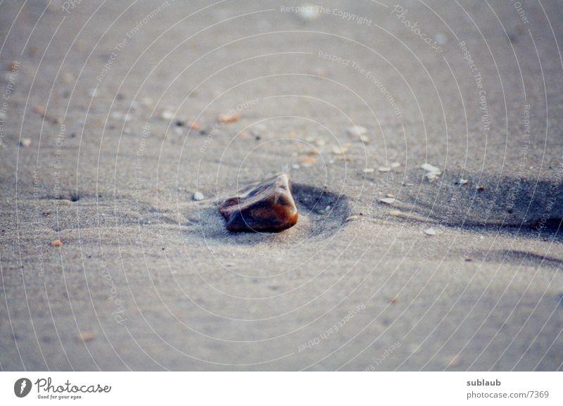 Meer_01 Strand Stein Sand