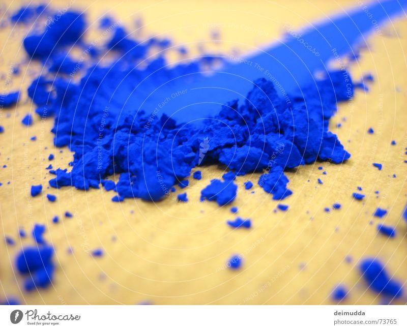 dead_haifish blau Farbe Kunst streichen Staub Farbmittel unnatürlich