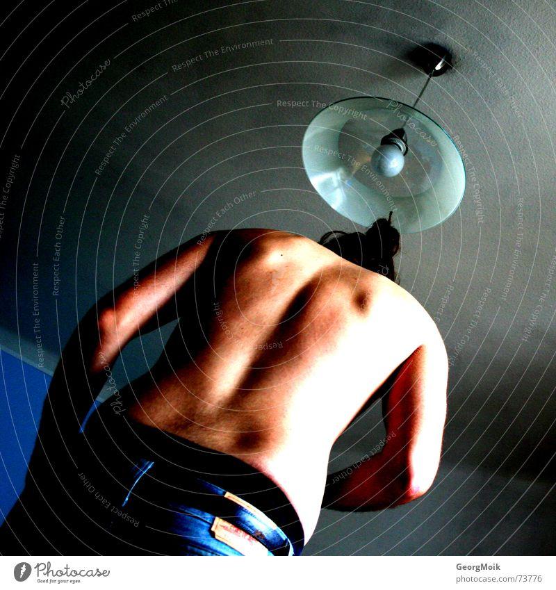 pure back blau schwarz dunkel grau Haare & Frisuren Glück Lampe braun Raum Rücken Arme rosa Trauer Hose Unterhose Gürtel