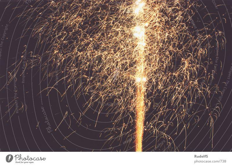 Silvester 2001_b Party Silvester u. Neujahr Club Feuerwerk