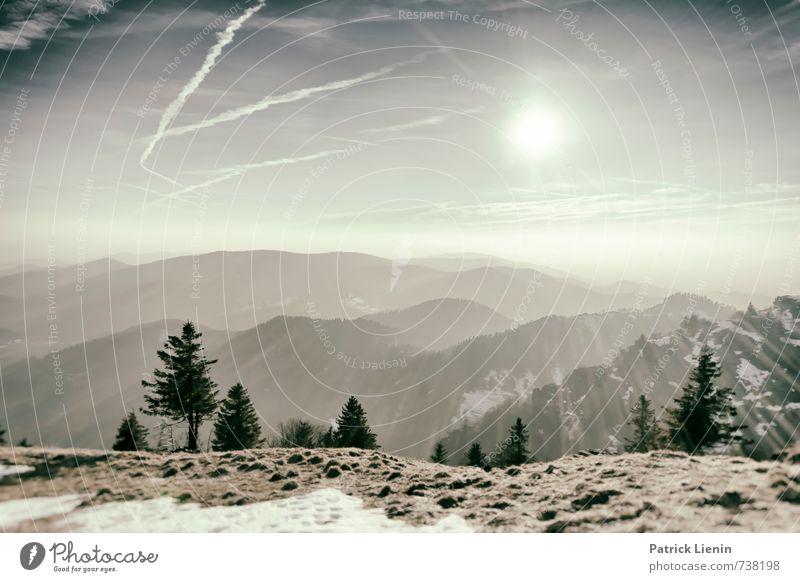 Belchenblick Ferien & Urlaub & Reisen Tourismus Ausflug Abenteuer Ferne Freiheit Umwelt Natur Landschaft Urelemente Himmel Wolken Sonne Sonnenaufgang