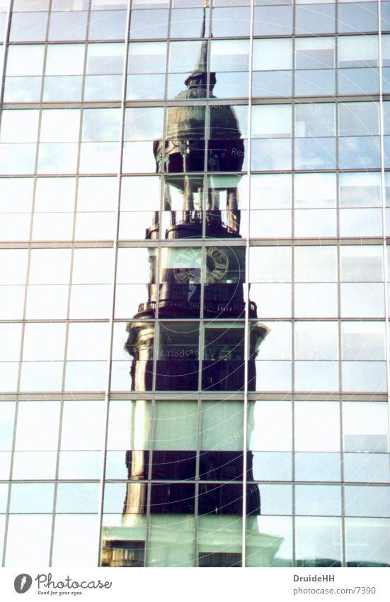 michel Religion & Glaube Architektur Hamburg Turm Spiegel Michaeliskirche