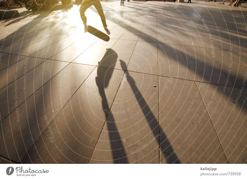 workout Mensch Kind Jugendliche Mann Stadt Erwachsene Sport Beine springen maskulin 13-18 Jahre Skateboarding Paris Trick Subkultur