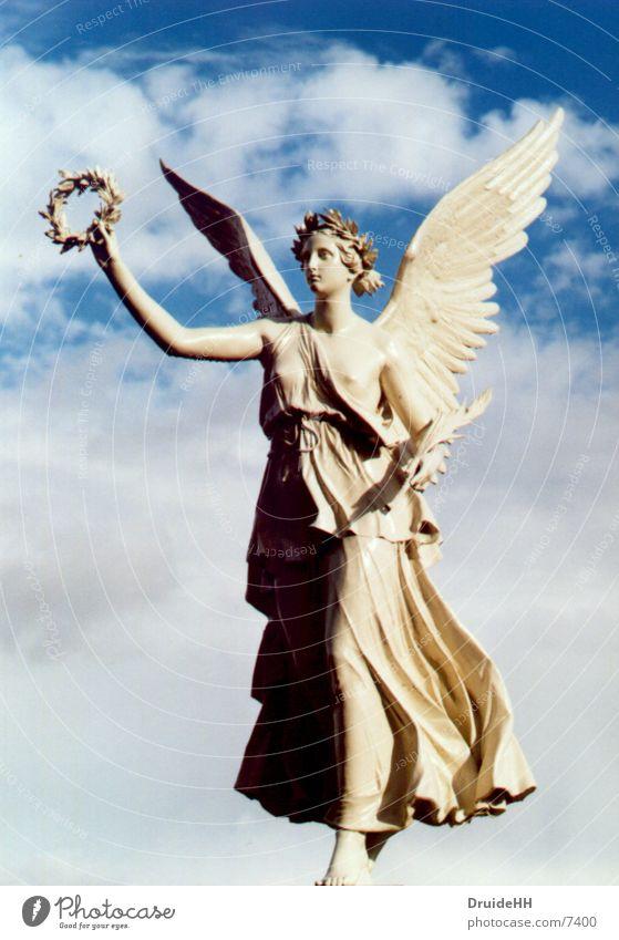 Himmlisch Schwerin himmlisch Wolken historisch Park Engel Himmel