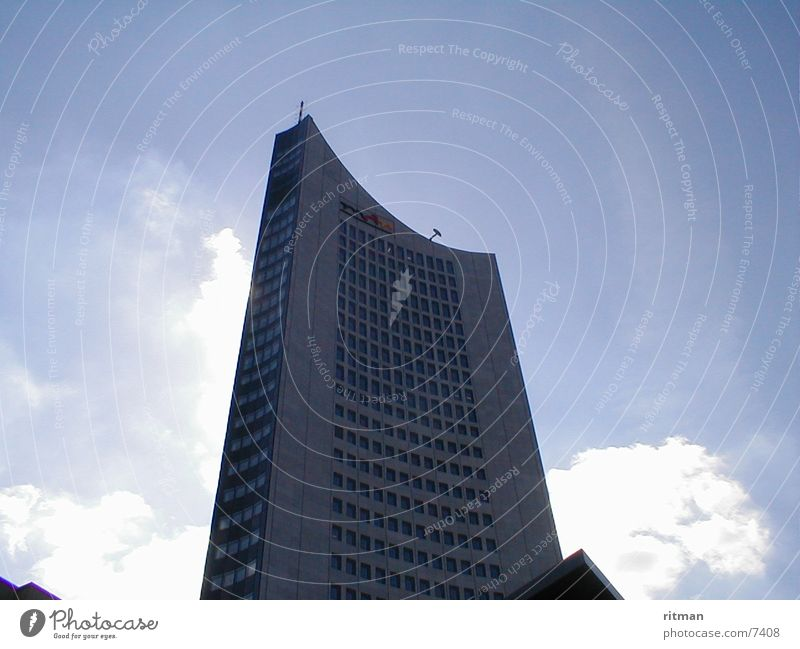 Uni Riese Architektur Sonne Himmel