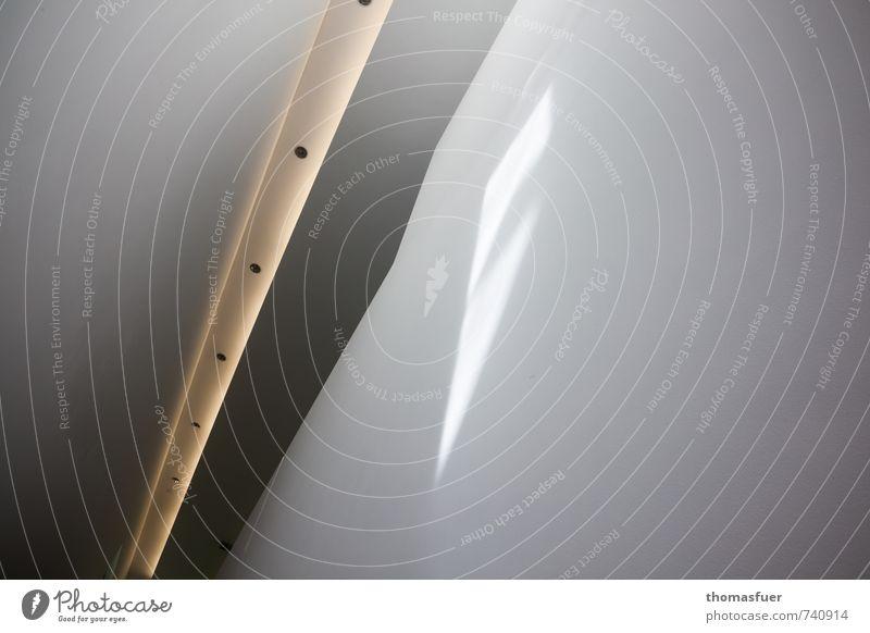 Menetekel Wand Innenarchitektur Architektur Mauer Gebäude Lampe Treppe Häusliches Leben Design Perspektive Zeichen geheimnisvoll Bauwerk Surrealismus Museum Inspiration