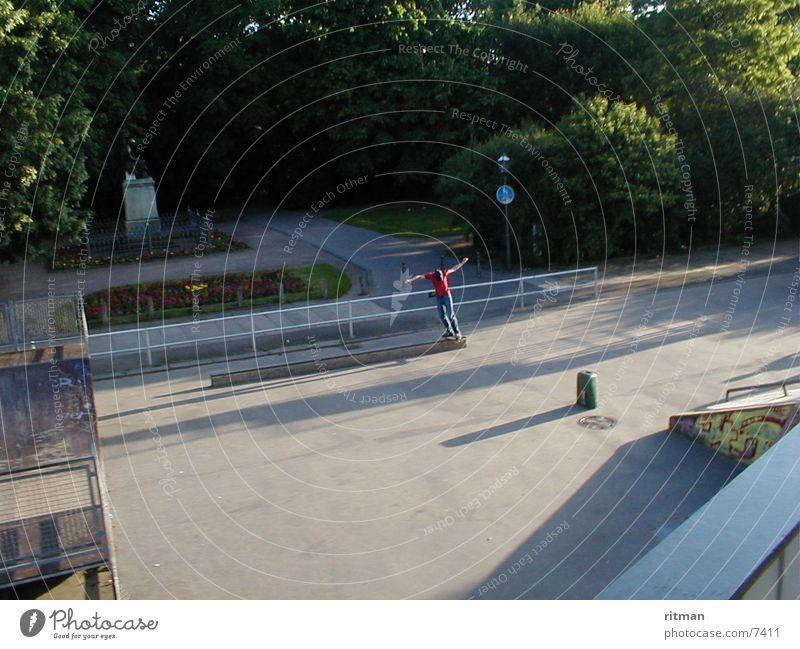 Skater Park Sport Aktion Skateboarding
