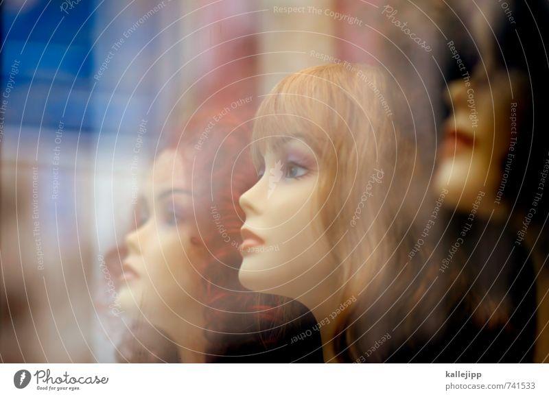 la femme de sacré coeur Mensch Frau Erwachsene feminin Haare & Frisuren Kopf Mode blond kaufen Locken brünett langhaarig rothaarig schwarzhaarig Schaufenster Schaufensterpuppe
