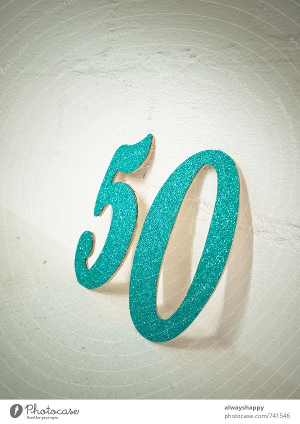 50 und kein bisschen leise alt grün weiß Freude Gefühle grau Glück Feste & Feiern Stein Stimmung Party Zusammensein glänzend Zufriedenheit Geburtstag Fröhlichkeit