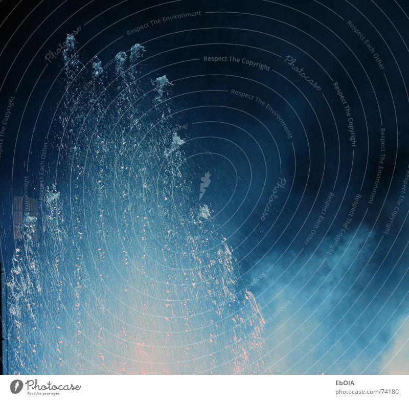 Klangwellen Wasser/Laser Show Farbe Rauch spritzen Bonn Springbrunnen Lasershow Wassershow
