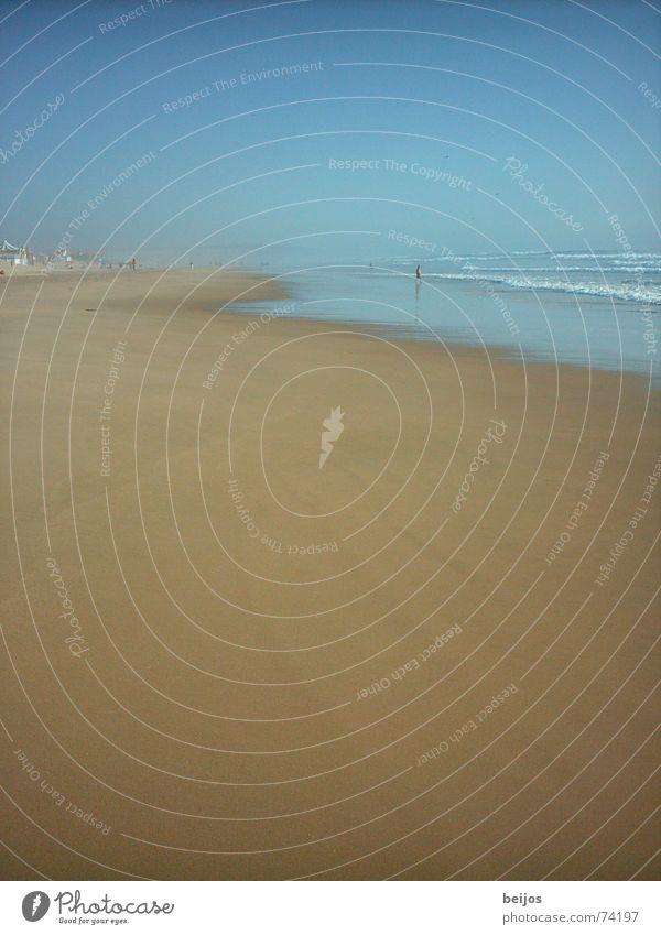 Neverland Strand Meer Ferne Einsamkeit träumen Nebel Idylle Lissabon Apokalypse Portugal Sommerabend