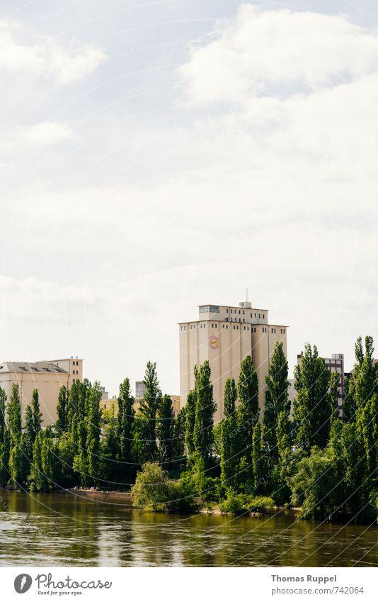 Hessentreffen 14 - Frankfurt im grünen II Himmel Natur blau Stadt Wasser Pflanze Baum Wolken Wald Wand Küste Mauer Gebäude Deutschland Fassade