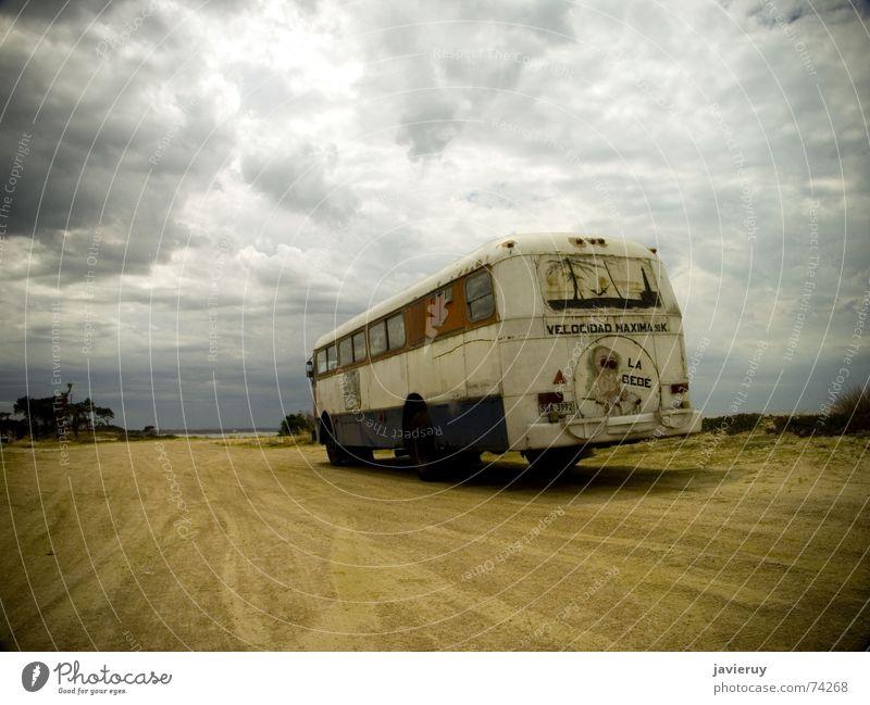 La bebe Sand Südamerika Bus Uruguay
