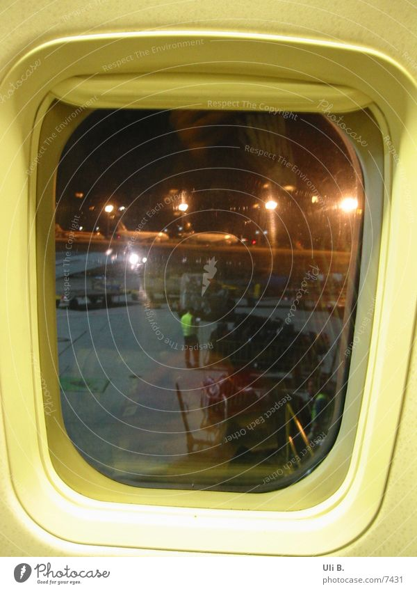 Flugzeugfenster Fenster