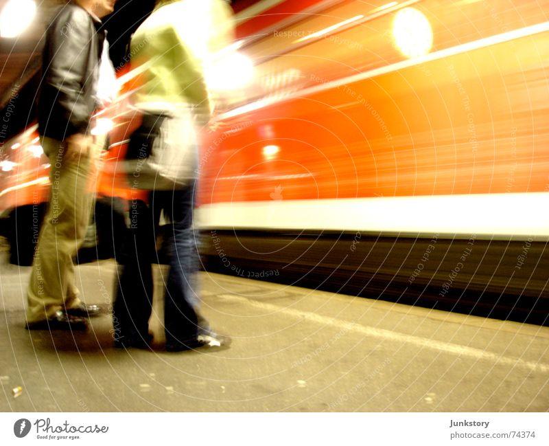 Hauptbahnhof Reutlingen Bewegung Eisenbahn Güterverkehr & Logistik Gleise Bahnhof Verkehrsmittel Regionalbahn