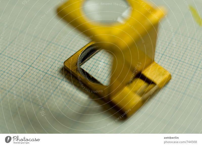 Fadenzähler alt Arbeit & Erwerbstätigkeit Dinge beobachten Papier lesen Bildung Beruf schreiben Wissenschaften Dienstleistungsgewerbe Handwerk Brief Werkzeug