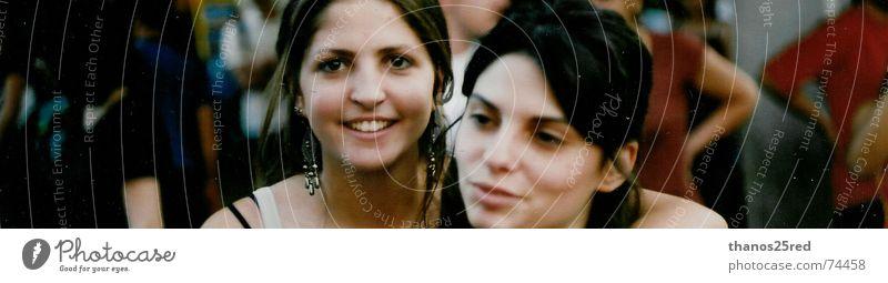 i love photos vs i hate photo Junge Frau Freundschaft 18-30 Jahre Lächeln Frauengesicht Gute Laune 2 Menschen