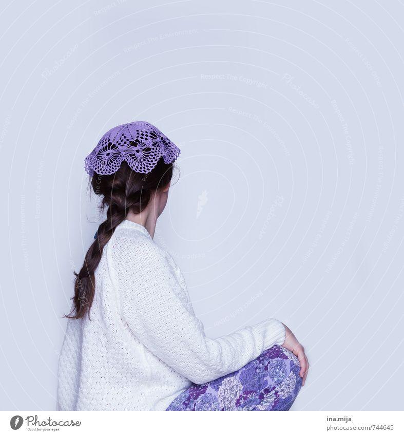 Häkelmütze II Mensch Frau Kind Jugendliche weiß Junge Frau 18-30 Jahre Erwachsene Haare & Frisuren Mode Freizeit & Hobby 13-18 Jahre Bekleidung Kreativität