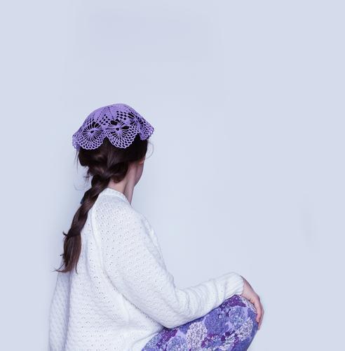 Häkelmütze II Mensch Junge Frau Jugendliche Erwachsene 1 13-18 Jahre Kind 18-30 Jahre Mode Bekleidung Pullover Accessoire Schmuck Mütze Haare & Frisuren brünett