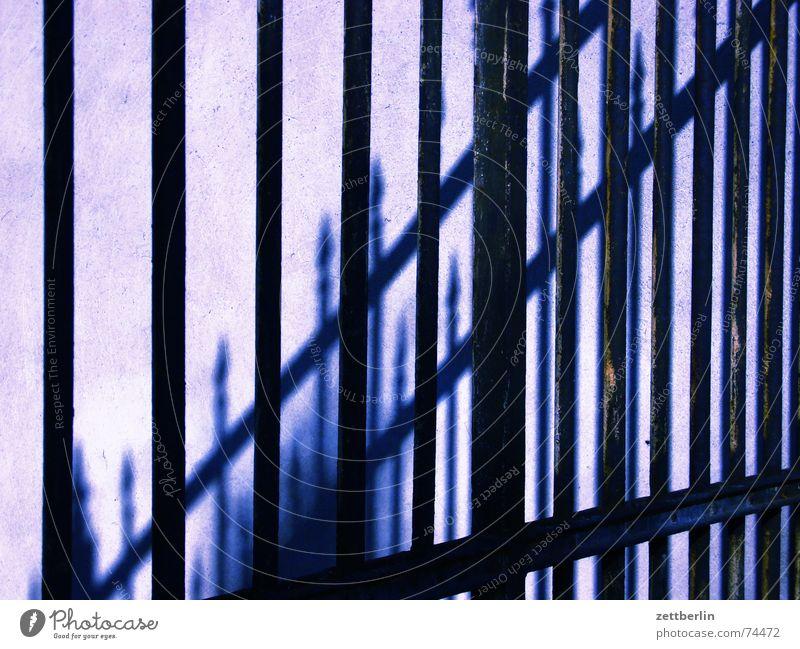 Zaun Eisen hart Gitter Pferch privat Empfehlung schmiedeeisern durchgang verboten danke für weitere