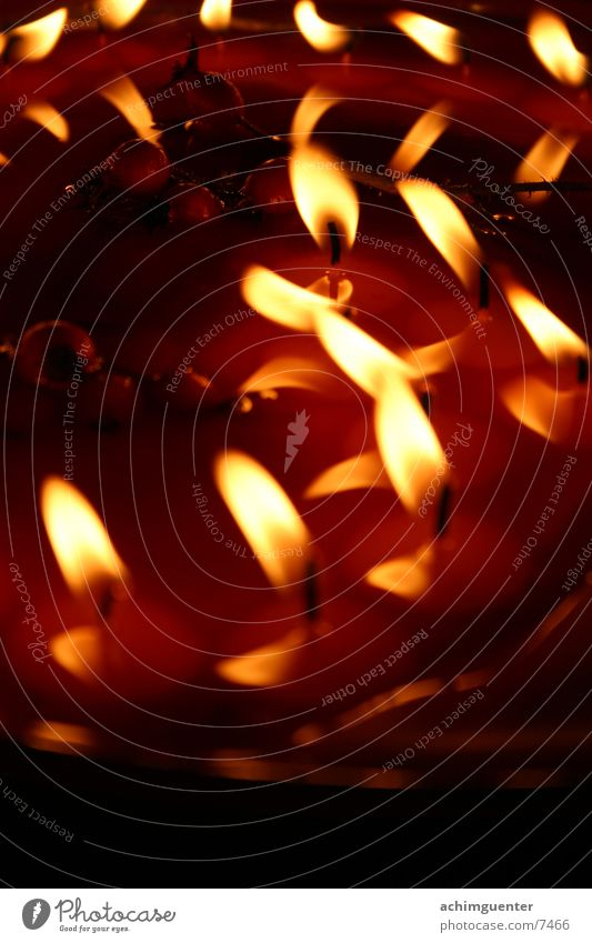 Kerzen Herz Wachs Romantik Häusliches Leben Liebe