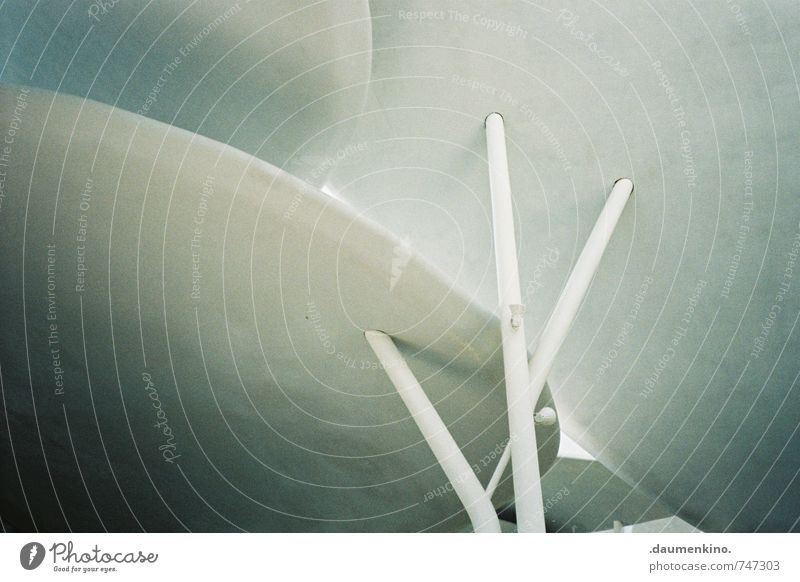 OoVvO Haus Bauwerk Gebäude Architektur ästhetisch elegant Präzision reduziert minimalistisch Decke Dach Strebe Farbfoto Innenaufnahme