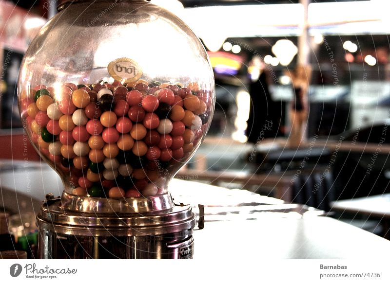 Bubble Gums Kaugummi mehrfarbig Fünfziger Jahre Sechziger Jahre american diner color Amerika bubble gums