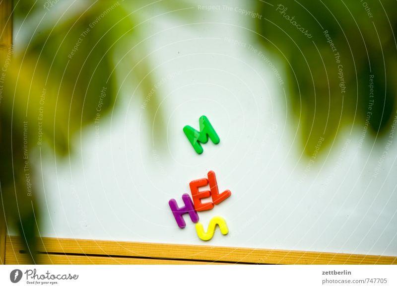 MHELS again Buchstaben Zeichen Schriftzeichen schreiben Information verschlüsselt Kennwort Wort Spielen Schule Schilder & Markierungen mehrfarbig Farbe lernen