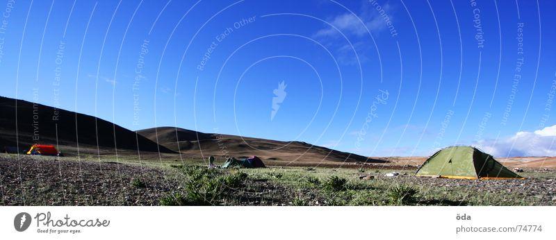 Base Camp 2 Zelt Lagerplatz Indien Camping Schlafplatz Tsomoriri Ladakh base camp Himmel mentok