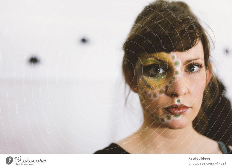 Je rêve encore de toi schön Gesicht Kunst außergewöhnlich träumen elegant Haut Kreativität Idee Kultur einzigartig Student Theaterschauspiel Kosmetik Schminke Bühne