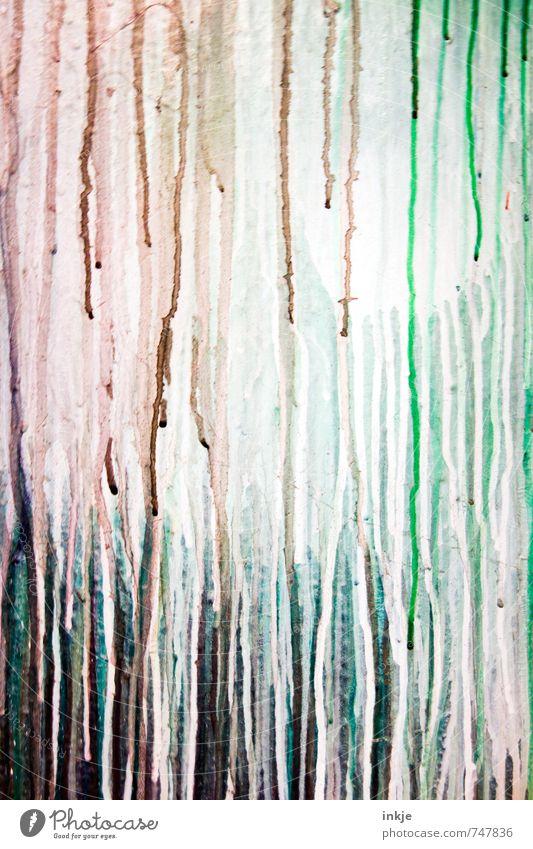 Farbverlauf Lifestyle Freizeit & Hobby Anstreicher Farben und Lacke Farbstoff Linie Spuren Verlauf mehrfarbig Inspiration Kreativität Kunst Schmiererei gesprüht