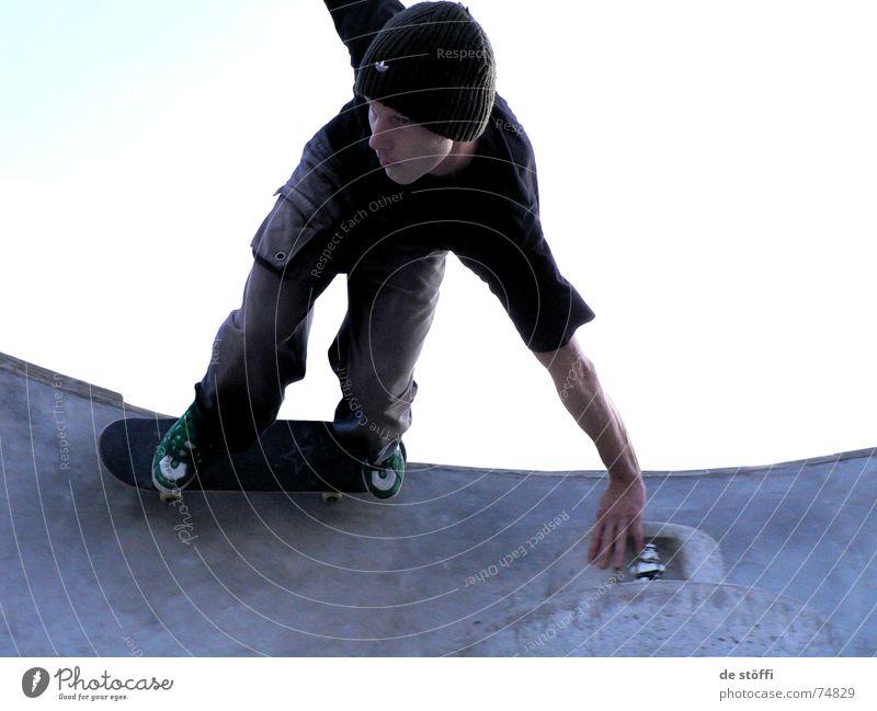 de.Duff Freude Treppe Schwimmbad Skateboarding Becken