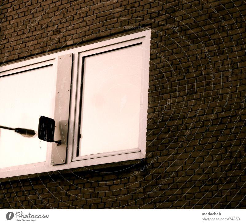 IT'S THE LATERNE AGAIN Himmel Haus Leben Fenster Gebäude Arbeit & Erwerbstätigkeit Wohnung Beton Design Hochhaus trist Häusliches Leben Ladengeschäft Etage