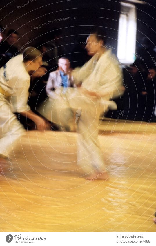 Fight! Sport Bewegung Karate Kampfsport