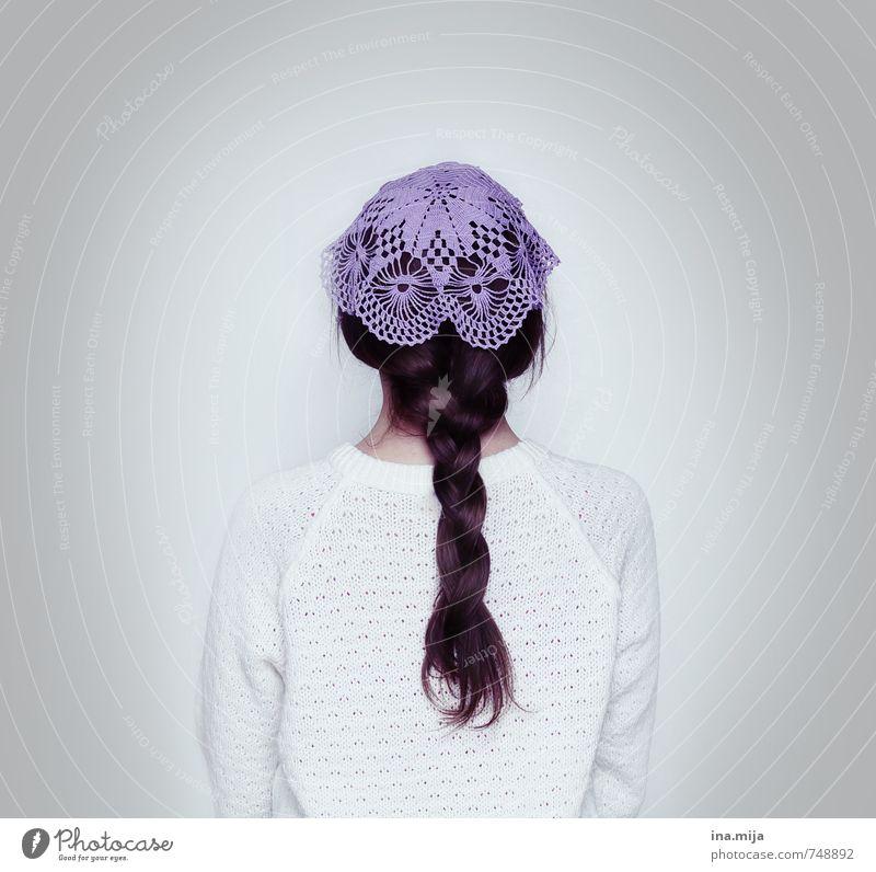 haartrend Mensch Kind Jugendliche alt schön weiß 18-30 Jahre Erwachsene feminin Haare & Frisuren grau Mode elegant modern 13-18 Jahre Bekleidung