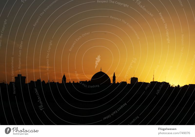 Jerusalem Night [2] Ferien & Urlaub & Reisen Ferne Religion & Glaube Hauptstadt Wahrzeichen Denkmal Sehenswürdigkeit Konflikt & Streit Sightseeing Städtereise