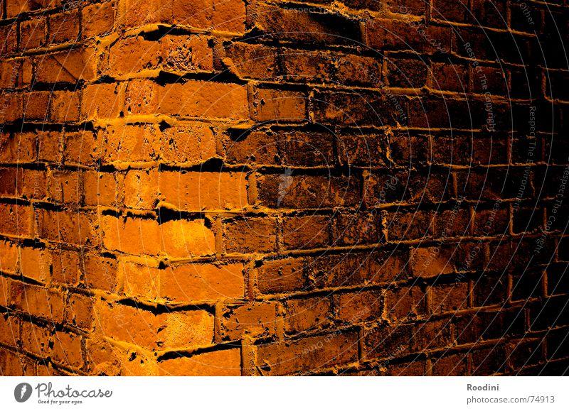 Stein auf Stein alt ruhig Haus Wand Mauer Stein Feste & Feiern Fassade Beton geschlossen Baustelle Material bauen hart Fuge