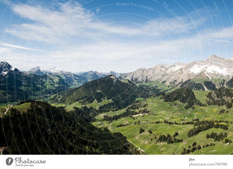 Pays-d'Enhaut Himmel Natur Sommer Landschaft ruhig Wald Berge u. Gebirge Leben Frühling Freiheit oben Felsen fliegen Luft Zufriedenheit Luftverkehr